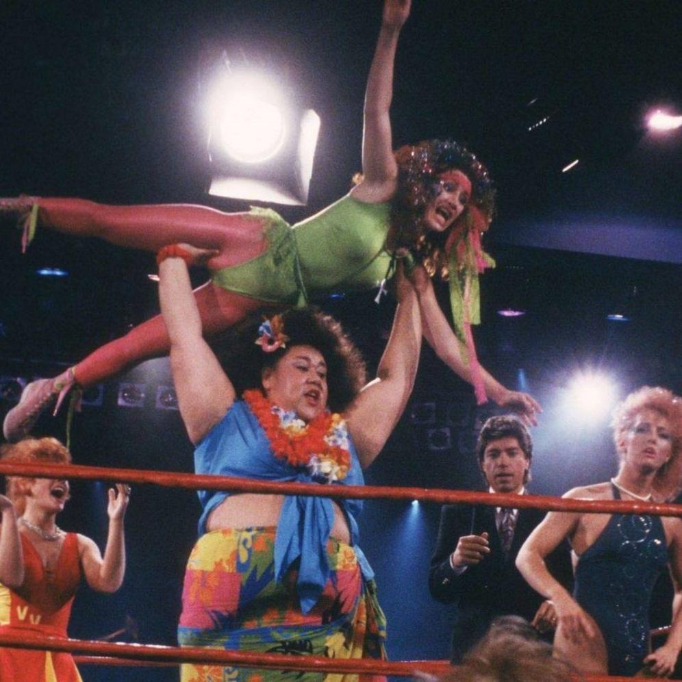 Eileen O'Hara as wrestler/rocker - Melody Trouble Vixen alias M.T.V.